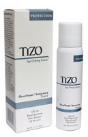 Tizo Age Defying Fusion SheerFoam Sunscreen TINTED SPF 30, 3.5 oz.