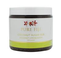 Pure Fiji Coconut Sugar Rub Coconut Lime Blossom Infusion, 15.5 oz.