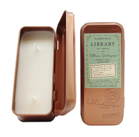 Paddywax Library Two Wick Candle Tin: William Shakespeare - 2.5 oz.