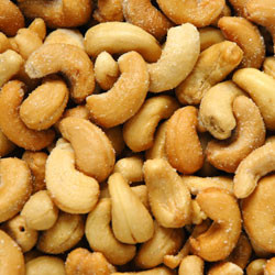 Linn's Roasted & Salted Cashews 8 oz.