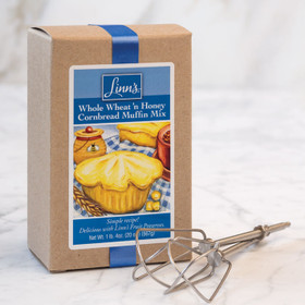 Linn's Whole Wheat 'n Honey Cornbread Muffin Mix