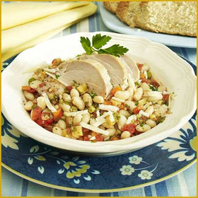 Country French Pork and White Beans
