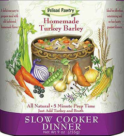 Turkey Barley Slow Cooker and InstaPot Soup Mix