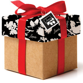 Linn's Signature Gift Box with gift tag