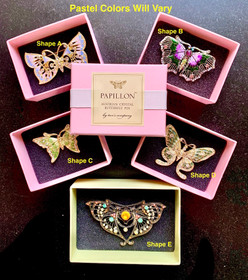 Butterfly Brooches - Ships Free