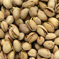 Linn's Roasted & Salted Pistachios 8 oz.