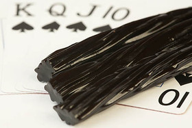 Linn's Old Fashioned Black Licorice 8 oz.