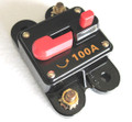 12 Volt Car Audio 100 AMP Circuit Breaker with Reset up to 1000 watts