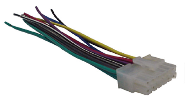[QMVU_8575]  Dual / Kenwood Wiring Harness Car Stereo 12 pin Wire Connector -  Mobilistics™ | Kenwood Wire Harness |  | Mobilistics