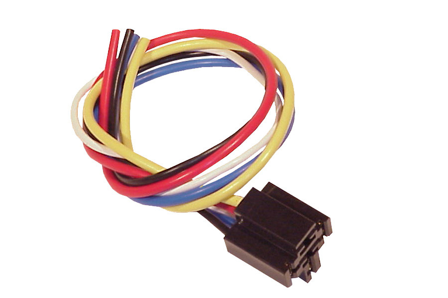 5 wire relay socket for 12v 30 40 amp relay mobilistics™ 3 pole relay wiring 5 wire relay socket for 12v 30 40 amp relay
