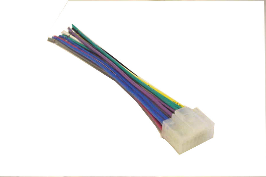 alpine wiring harness car stereo 16 pin wire connector  price: $3 49  image  1