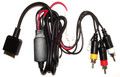 RCA Audio Video Input radio to iPod/Phone Interconnect w/ 5v charger