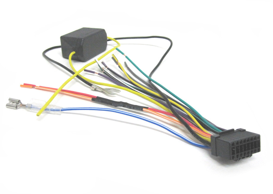 WH-P16K fits Pioneer Wiring Harness DEHP7800MP, DEHP8600MP, DEH9600MP on