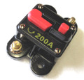 12 Volt Car Audio 200 AMP Circuit Breaker with Reset up to 2000 watts