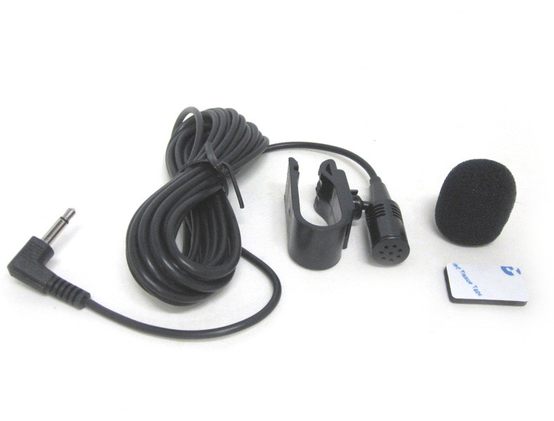 Microphone for Car Stereo Bluetooth Handsfree Operation ... on