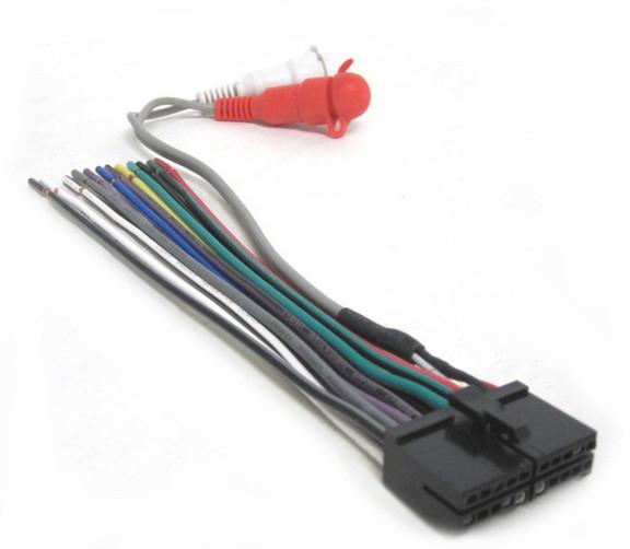 Jensen Replacement Wiring Harness for CD, MP, MSR, SD, UCD, UMP, WH-JE20RCA  - Mobilistics™Mobilistics