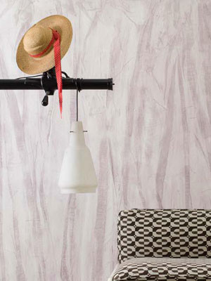 E - BREZZA    Decorative plaster for textured patterns enriched with natural fibres