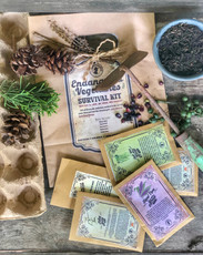Endangered Vegetables Survival Seed Kit