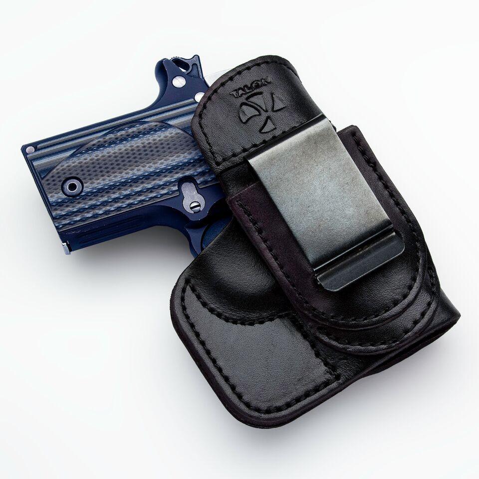Sig 938 Tuckable Right Hand Black