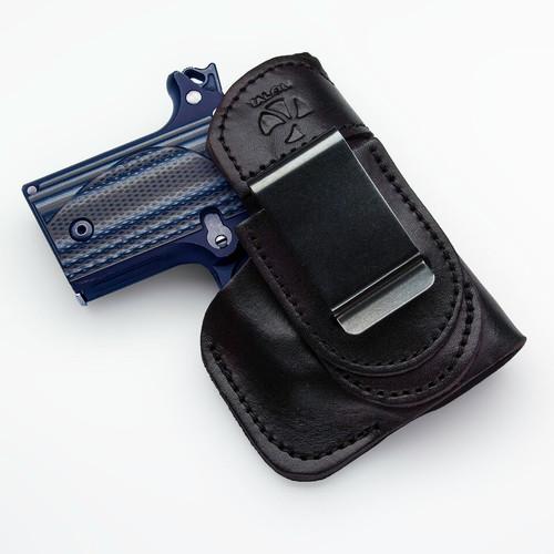 Sig P238 Tuckable IWB Holster Right Hand Black