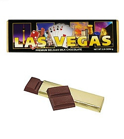 Las Vegas Chocolate Bar (Case of 24)