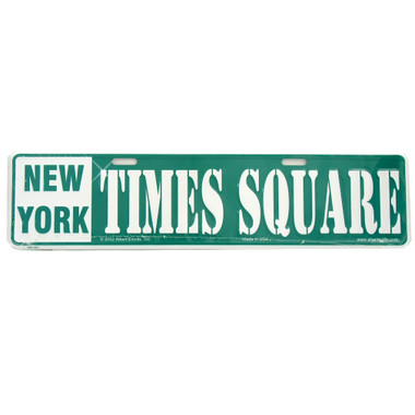 New York City Times Square Street Sign