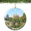 Porcelain Atlanta Christmas Ornament