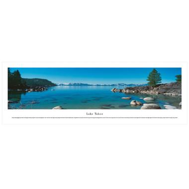 Panoramic Lake Tahoe Poster