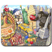 NYC Thanksgiving Day Parade Mousepad
