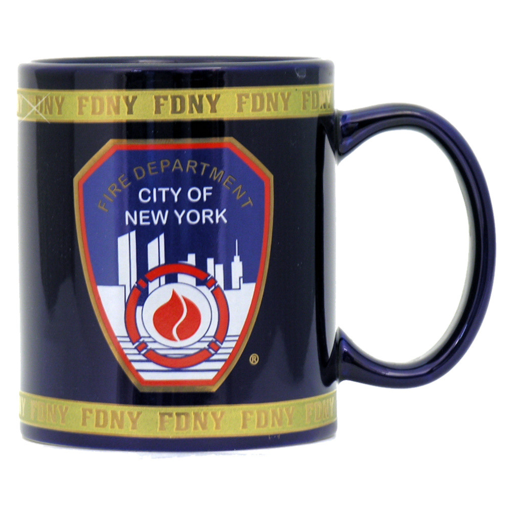 Fire department of new york mug fdny for Bureau new york conforama