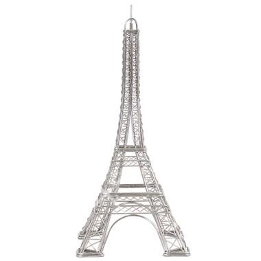 Eiffel Tower Replica Wire Model Statue