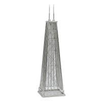 Chicago's John Hancock Building Replica Model and Statue