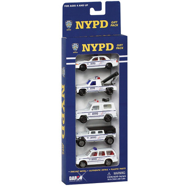 NYC NYPD Cars and Vehicle Set