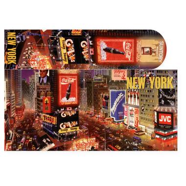 Times Square Postcard & Bookmark Combo