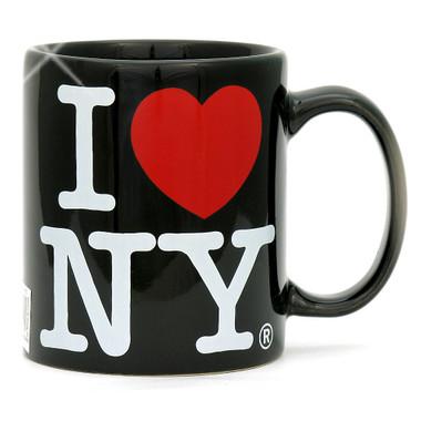 Black I Love NY Mug