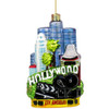 Glass Hollywood Christmas Ornaments (Back Side)