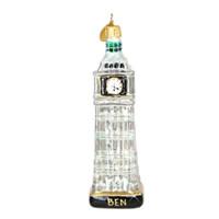 Big Ben Christmas Ornaments, Glass