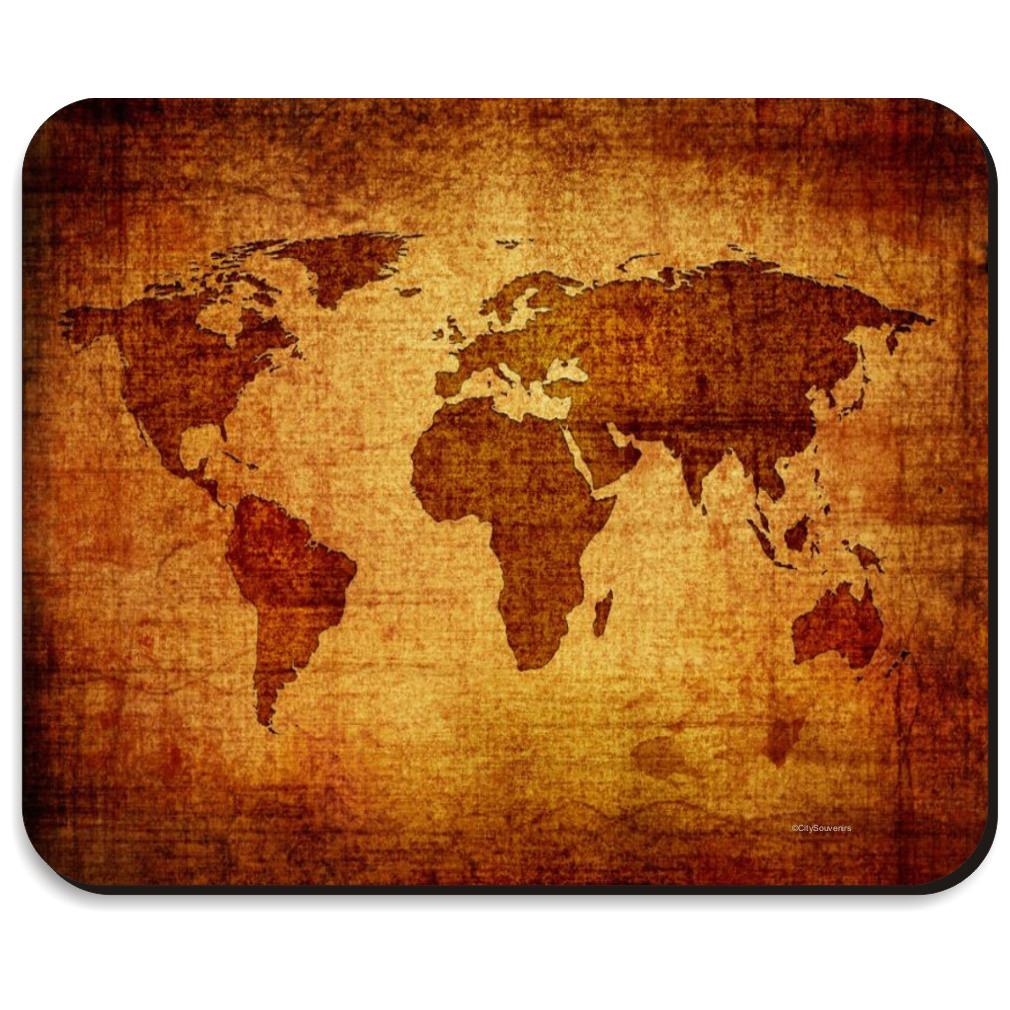 Antique world map mousepad gumiabroncs Images