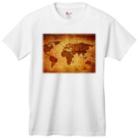 Antique World Map T-Shirt