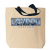 London Canvas Tote Bag