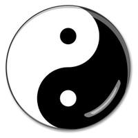 Yin Yang Paperweight