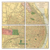 St. Louis Map Coaster Set of 4