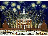 Williamsburg Celebration Scene
