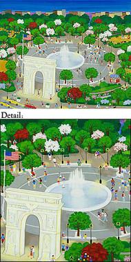 Washington Square Park Note Cards