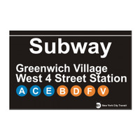 West 4th Street Subway Greenwich Village Magnet