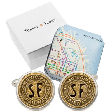Token San Francisco Cufflinks