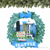Seattle Wreath Ornament