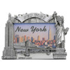 Silver Landmarks New York City Photo Frame