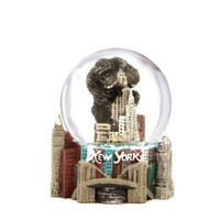 Mini King Kong NYC Snow Globe
