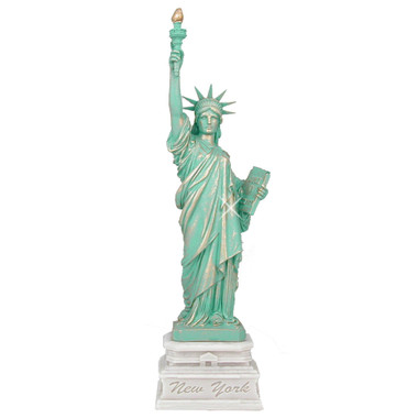 24 Inch Marble Statue of Liberty Statue Replica